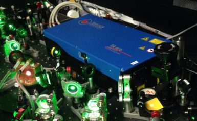 Laser breakthrough has physicists on the point of cooling down substance