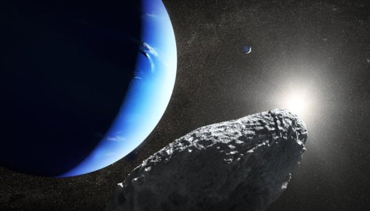 Tiny Neptune moon noticed by astrophysicist might have broken from larger moon