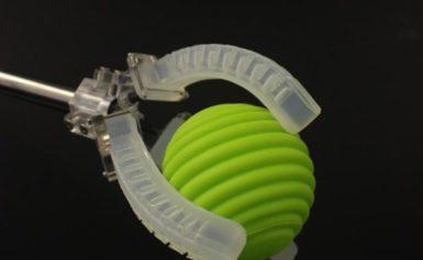 Novel 3-D printing method embeds sensing capabilities within robotic actuators