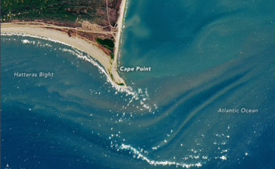Mysterious Sandbar Island That Formed Last Summer Is Gone Once Again