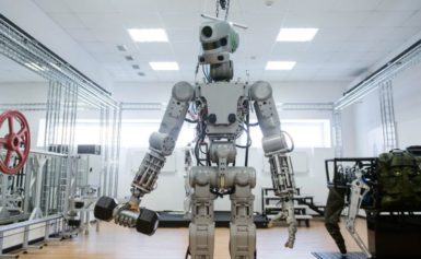 These Gun-Toting, Weight-Lifting Russian Robots Might Fly to Space in 2019